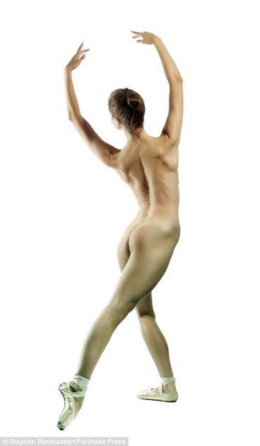 Ballerina Kate Byrne.