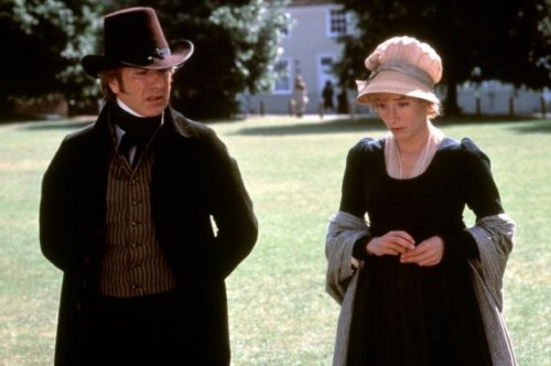 He starred with Emma Thompson and Kate Winslet (not pictured) in the 1995 film Sense and Sensibility.