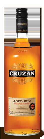 Cruzan aged dark Rum.