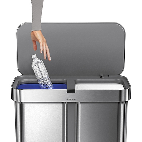 Simplehuman Voice Activated Trash Can Does Everything But