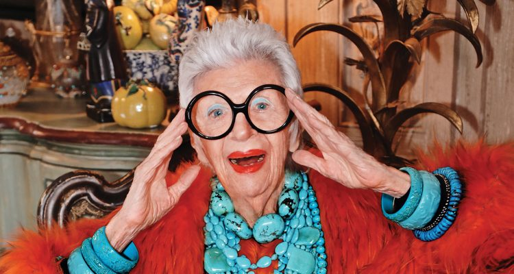 97 Year-old Iris Apfel Signs with Big Modeling Agency
