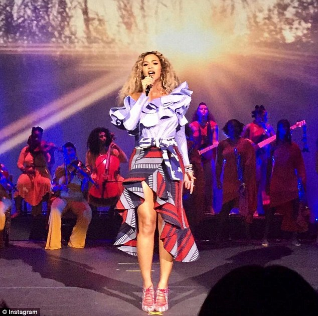 imagine if beyonce showed up at your companys xmas party daily candid news