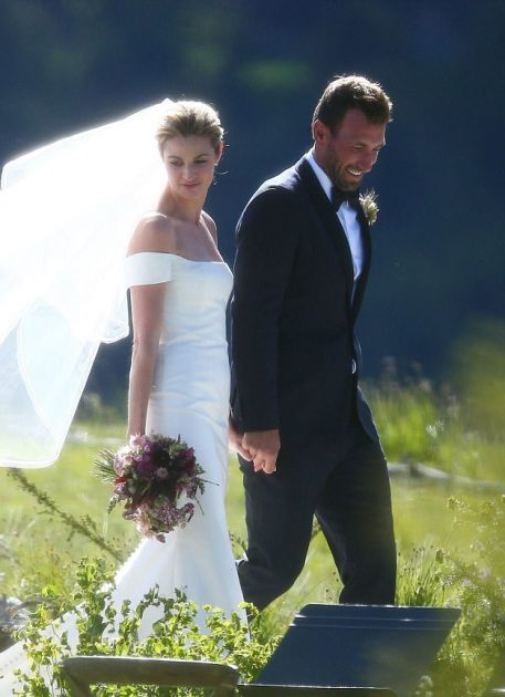 Erin Andrews Wedding.Erin Andrews Marries In Dream Wedding Daily Candid News