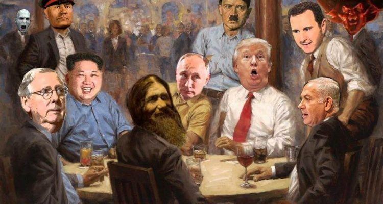 Like the 'Dogs Playing Poker' Painting But With Presidents. - Daily Candid  News