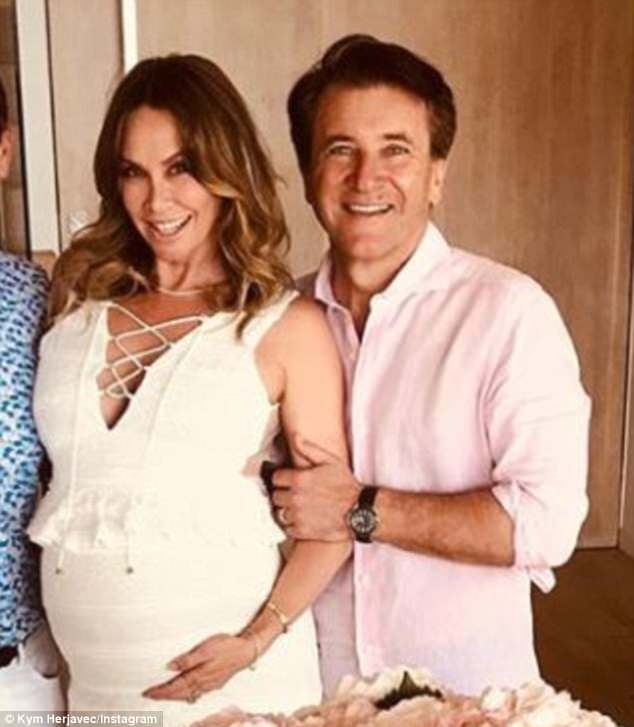 Dancing With The Stars Kym And Robert: Gender Reveal Party For Shark Tank Judge