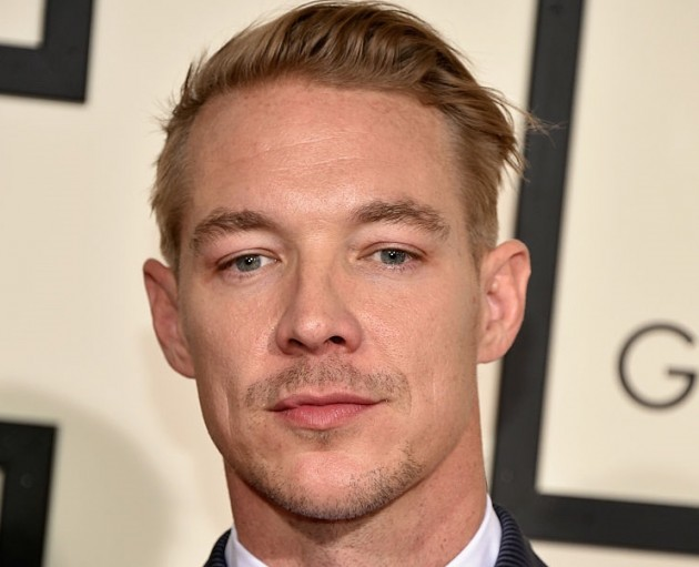 Diplo at Grammys 2016.