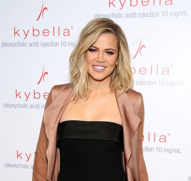 Khloe Kardashian kicks off KYBELLA Movement at Allergan Event at IAC Building on March 3, 2016 in New York City.