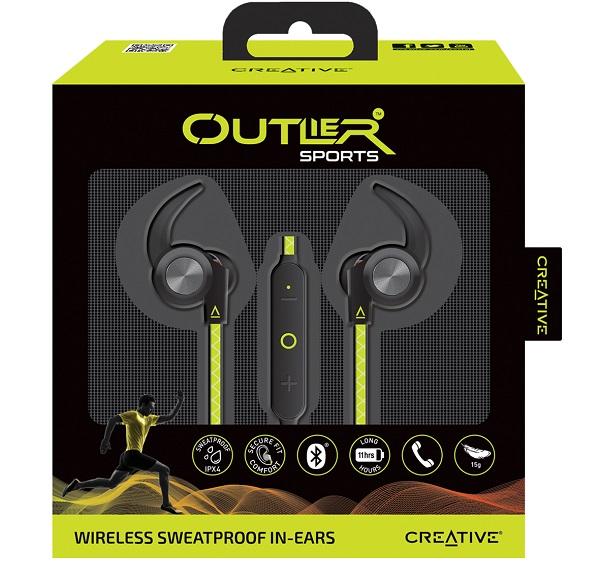 Creative Outlier Sport Headphones. $49.99
