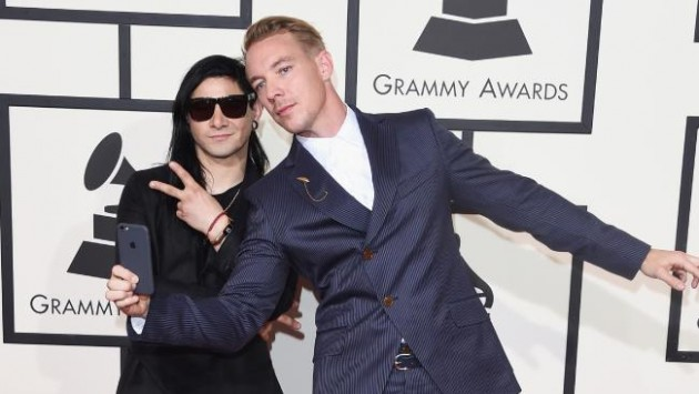 Musicians Skrillex and Diplo