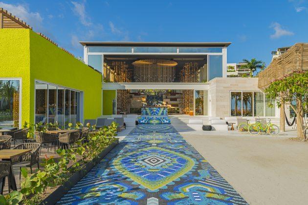W Punta de Mita - Living Room BarExterior