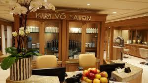 Kim Vo Salon in Beverly Hills.